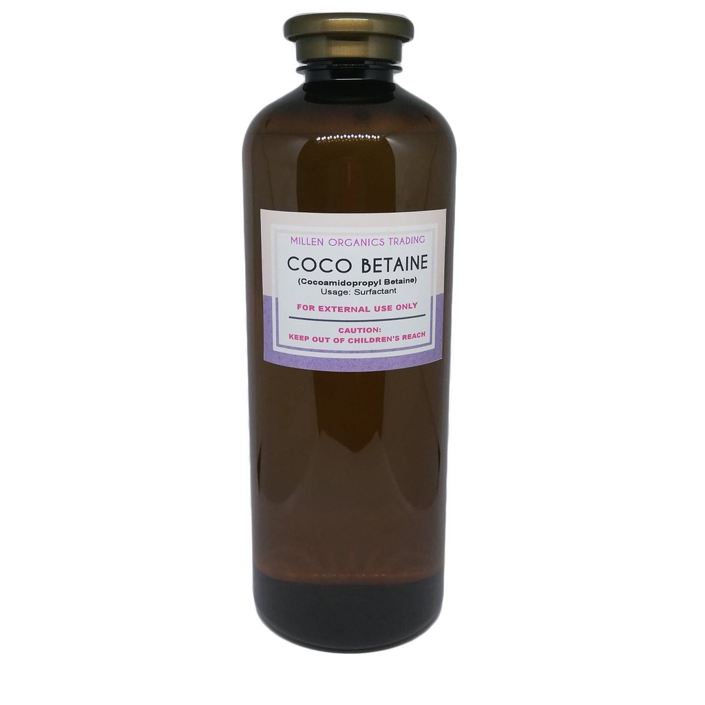 CocoBetaine (Cocoamidopropyl Betaine) 250ml, 500ml, 1L