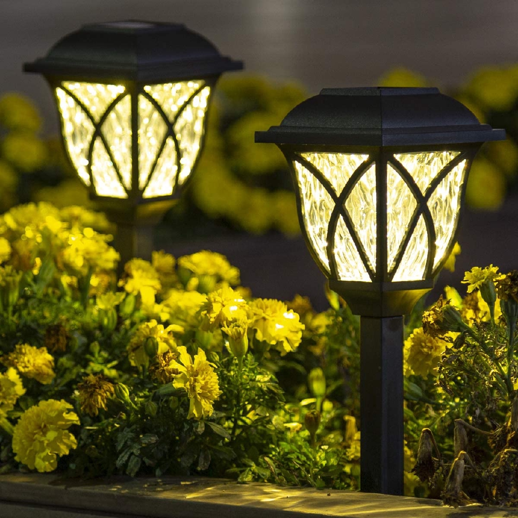 Solar Pathway Lights Outdoor Led Solar Garden Lights Waterproof Solar Landscape Lights For Lawn Patio Yard Garden Walkway 2 Pack Shopee Philippines