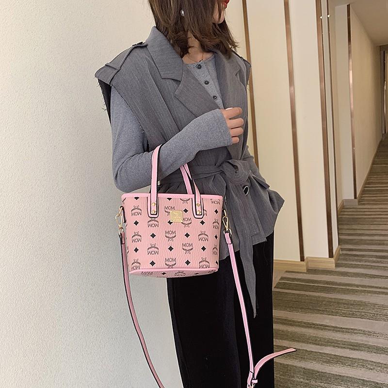 MCM Women sling bag hand bag mini size with zipper