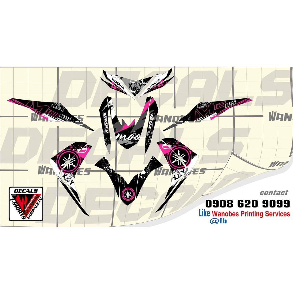 Mio sticker motorcycle accessories prices and online deals motors jun 2019 shopee philippines