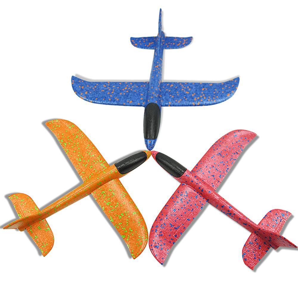 3PCS Slingshot Throwing Flying Glider Durable Throwing Plane Plane Toy