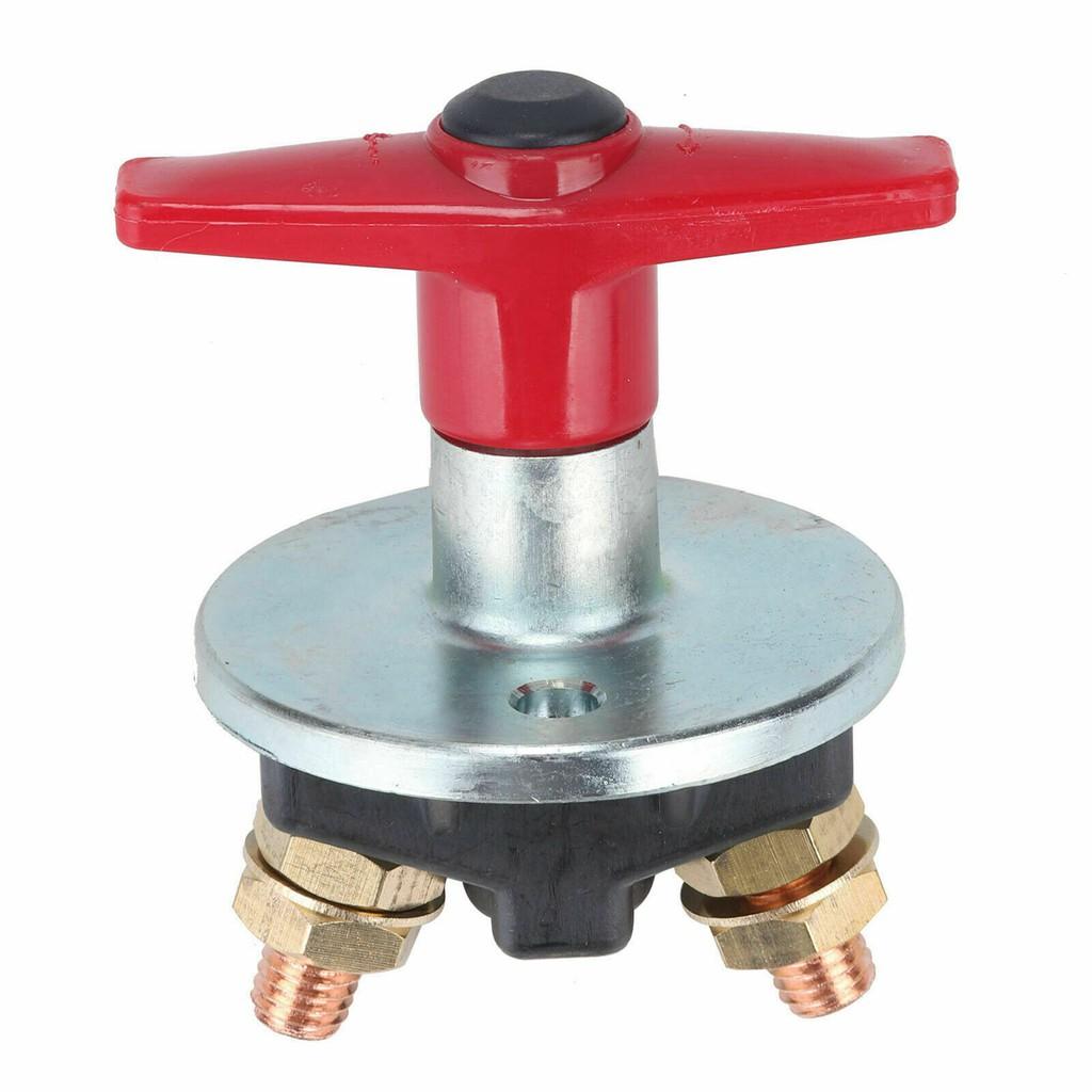 Universal Heavy Duty Battery Master Isolator Cut Off Kill Switch 2 Keys 12v 24