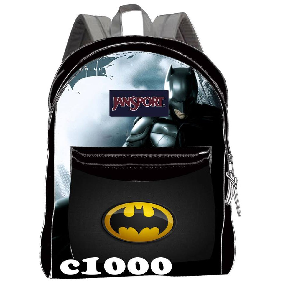 11453eac33ae JANSPORT BAG - CHARACTER BATMAN
