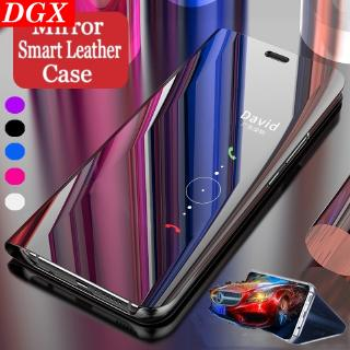 Vivo V7 V7+ V9 V11 V11 Pro V15 V15 Pro Case Smart Mirror Flip Clear View Cover DGX | Shopee Philippines