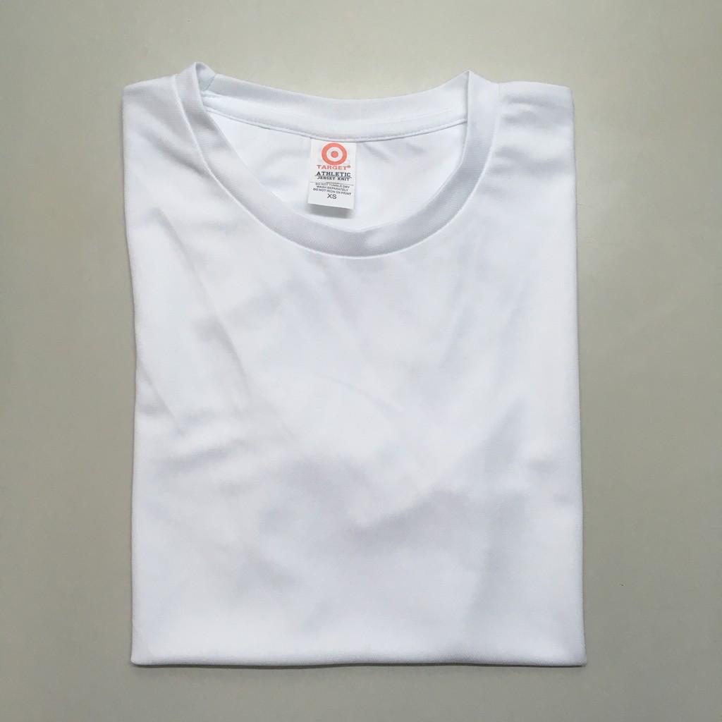 Target Drifit Round Neck T-shirt (White)