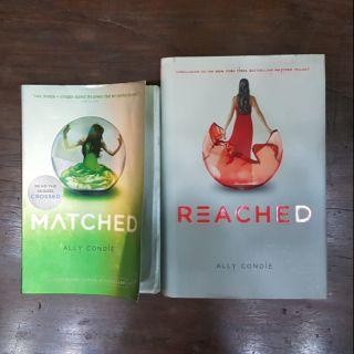 REACHED - ALLY CONDIE HARDBOUND NEW | Shopee Philippines