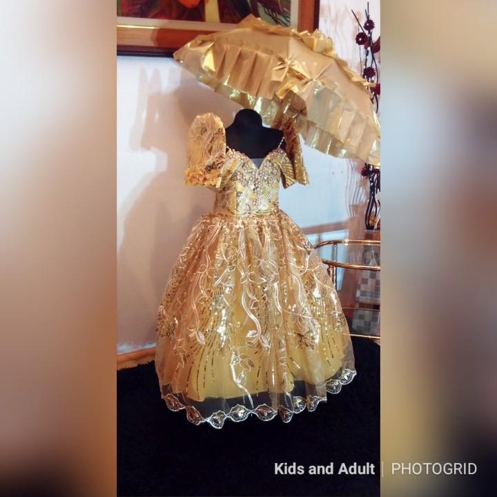 Modern Filipiniana For Kids Detachable Shopee Philippines