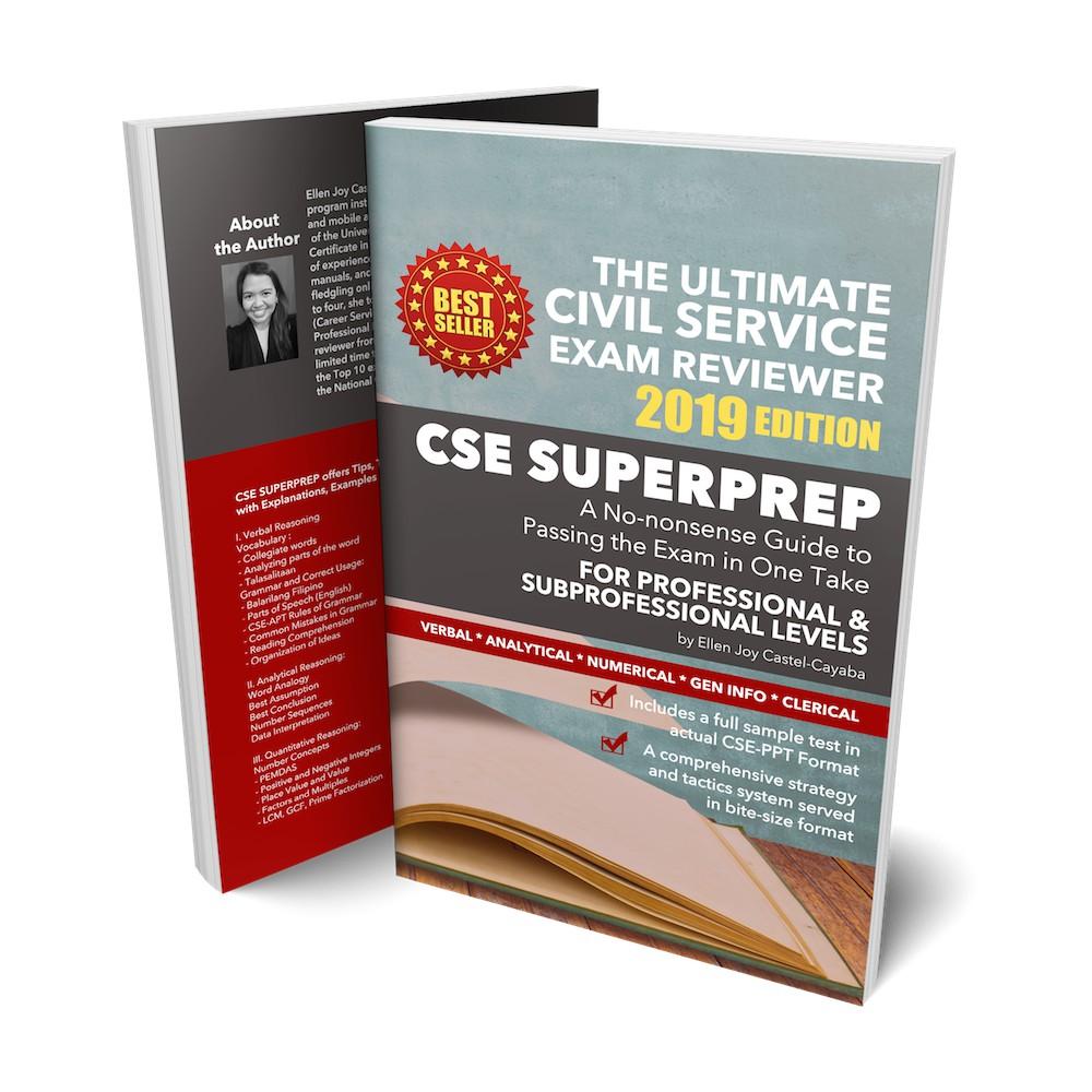 civil service reviewer 2019 pdf free download