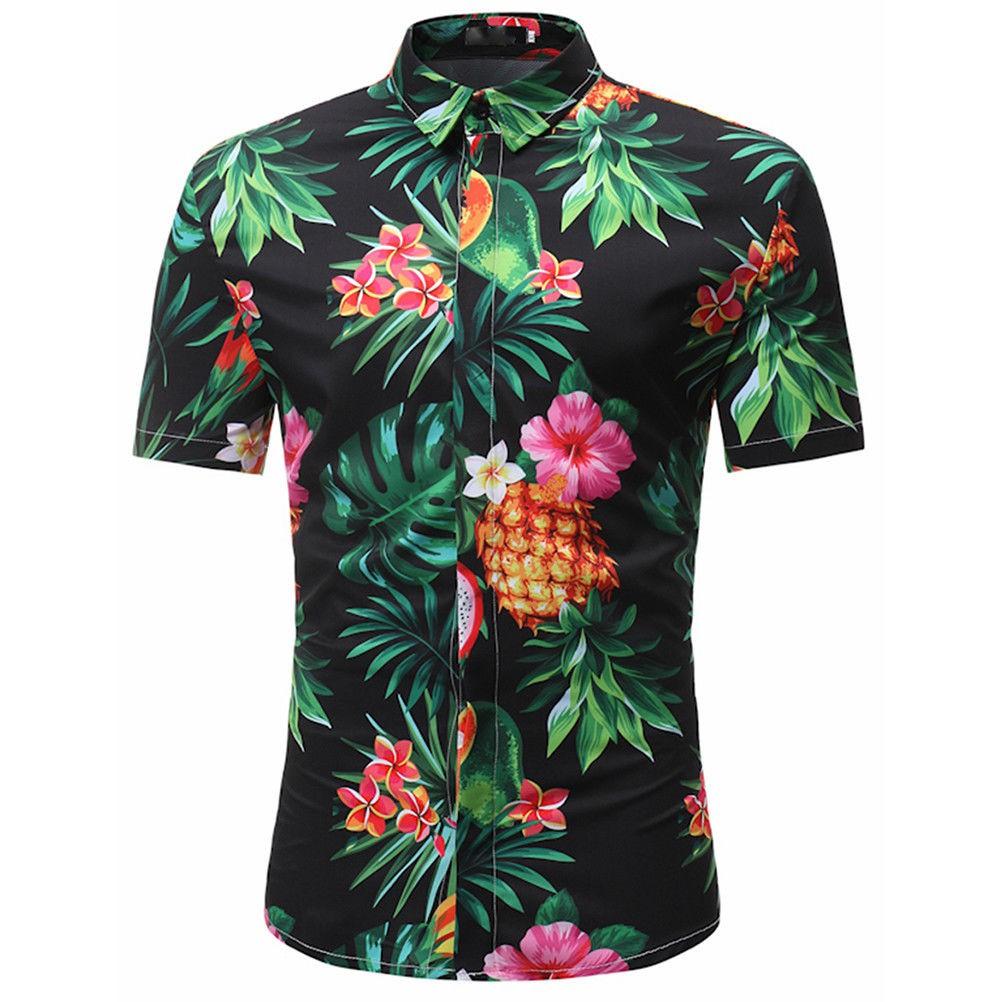 a2f2548d3 🔥JOY🔥Summer Holiday Men Fancy Hawaiian Shirt Stag Beach Hawaii Aloha  Party Shirt set | Shopee Philippines