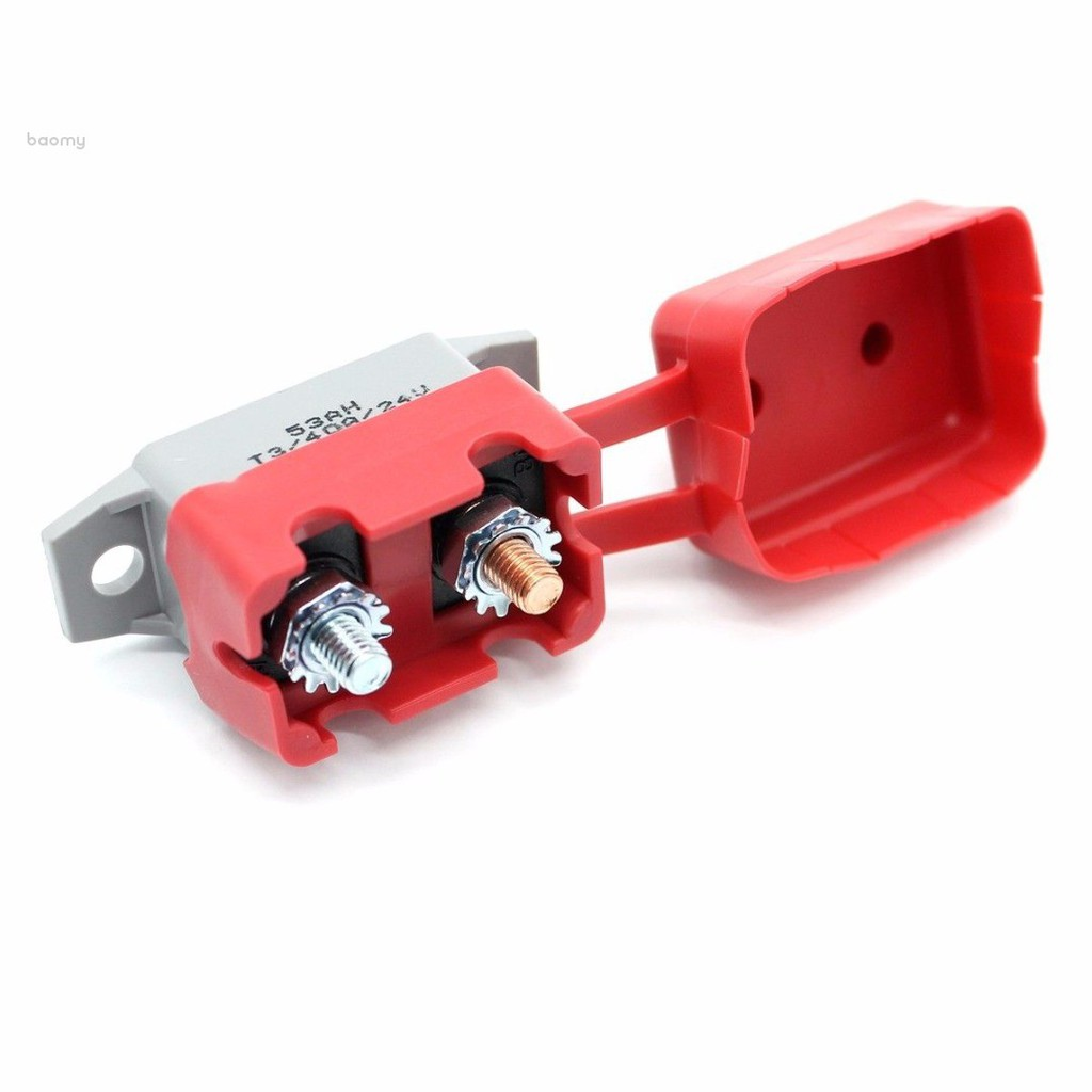 12V 20A 30A 40A 50A Auto Automatic Fuse Reset Circuit Breaker with PVC Cover