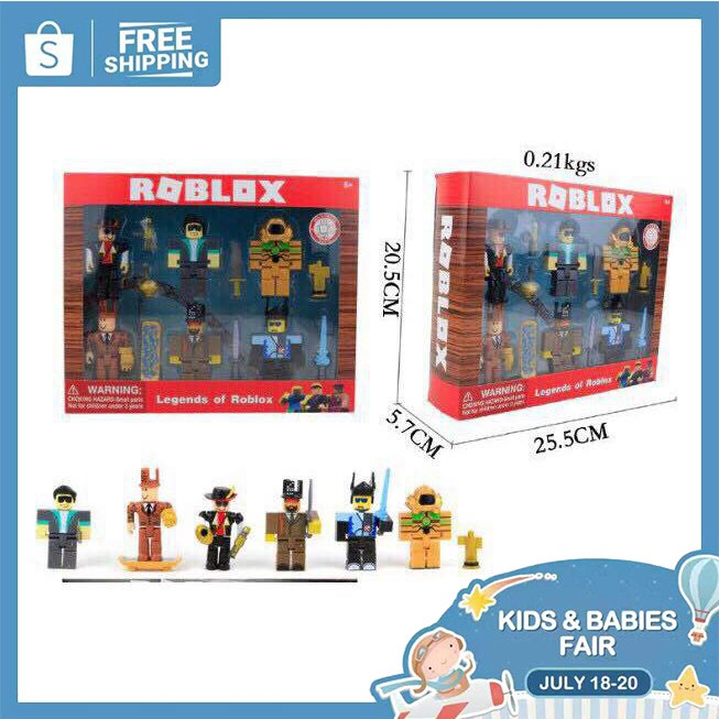 Legends Of Roblox And Neverland Lagoon Set