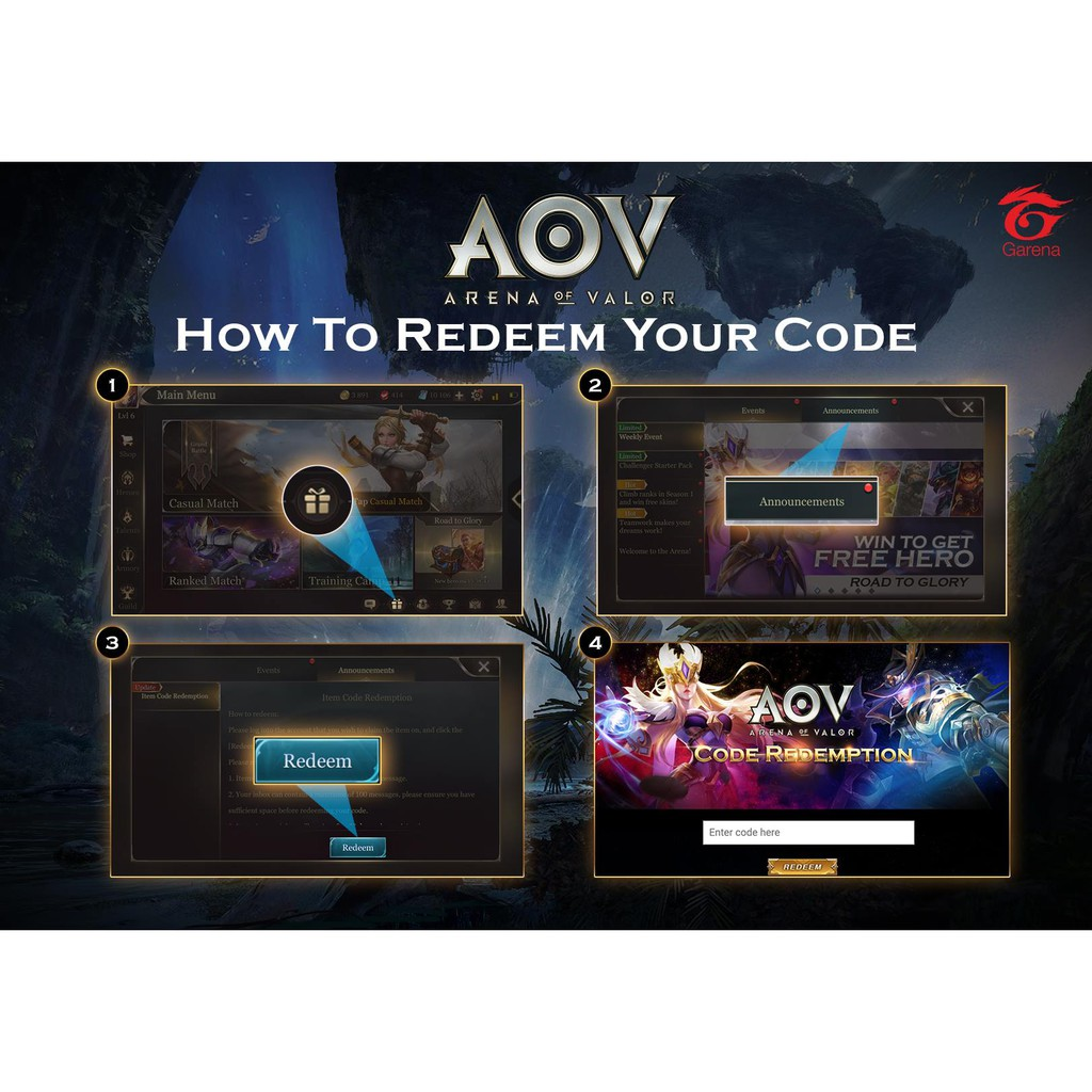 AOV Lucky Chest | Shopee Philippines