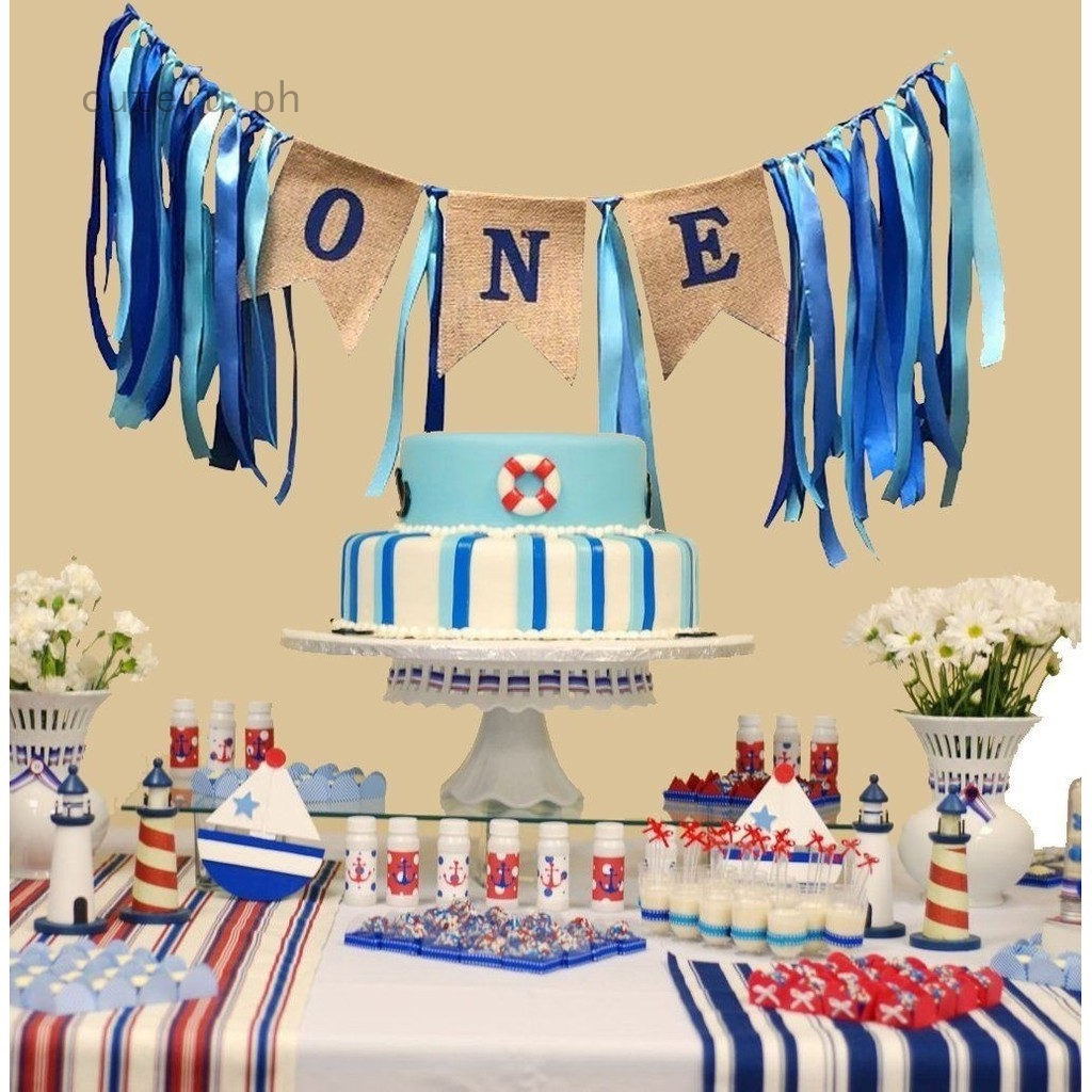 Incredible 1St Birthday Decorations Baby Boy39S One First Birthday Banner Personalised Birthday Cards Cominlily Jamesorg