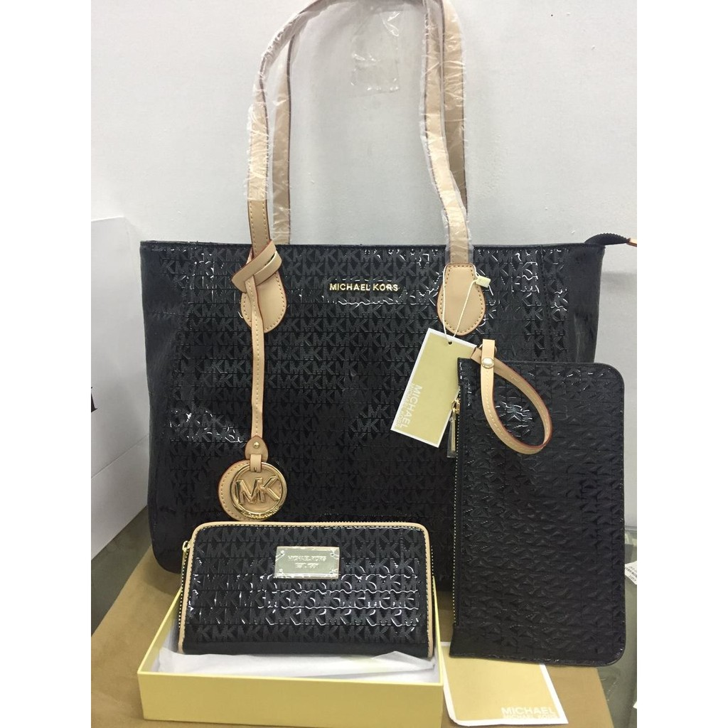 Michael Kors Bag Wallet Set