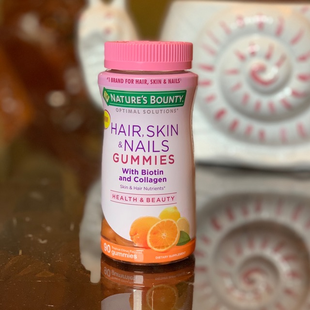 Nature S Bounty Hair Skin Nails Gummies