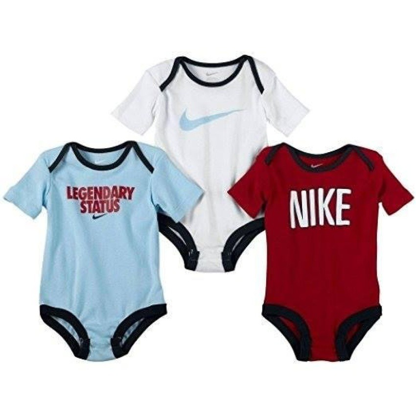 72bc2cf5d Nike 3-Pack Bodysuits - All The Hype (0-3 Months) | Shopee Philippines