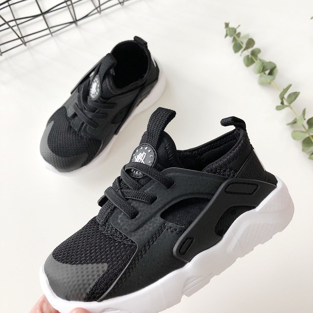 rociar bibliotecario zoo  Original Nike Air Huarache Kids Shoes Sneakers Shoes For Boys And Girls  Shoes Black | Shopee Philippines