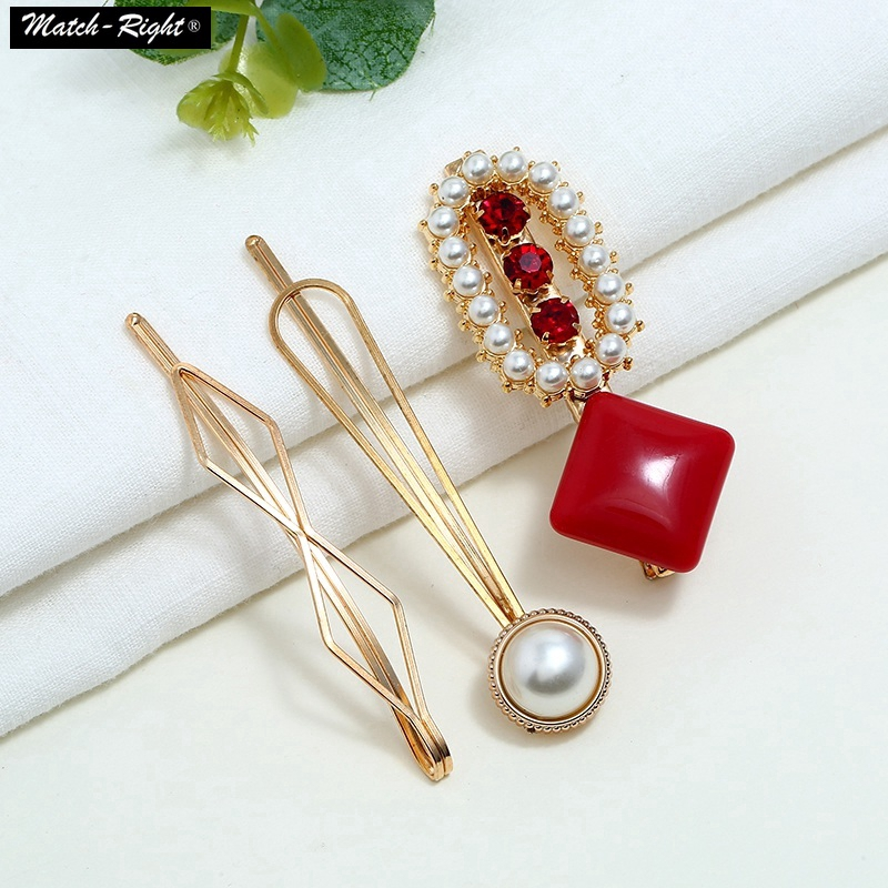 3pcs Girls Hair Clips Rhinestone Hairpin Acrylic Hair Pins Mz Cn068 Shopee Philippines