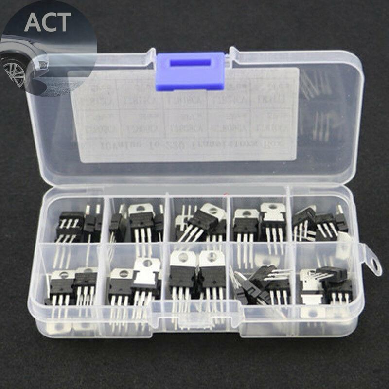 Voltage transistor l7808 insulated component mix regulator accessories