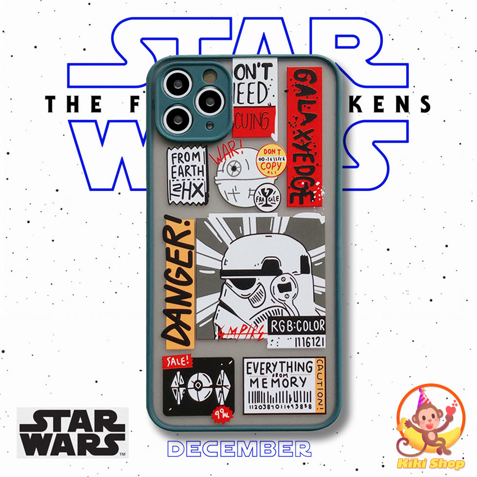 Star Wars Phone Case for IPhone 12 11 Pro Max X Xs Max XR 8 7 Plus SE 2020 Shockproof Matte Hard Back Cover