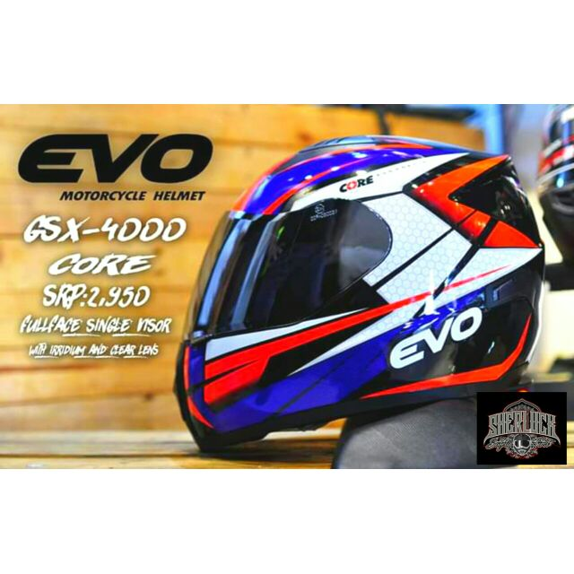 Evo gsx 4000 core irriduim lens with free clear lens