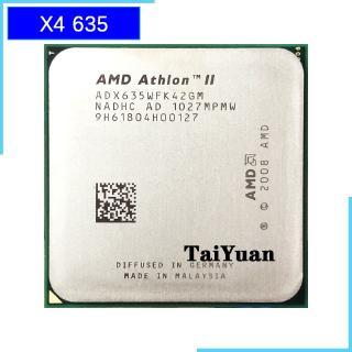 Am D Athlon Ii X4 635 2 9 Ghz Quad Core Cpu Processor Adx635wfk42gi Adx635wfk42gm Socket Am3 Shopee Philippines
