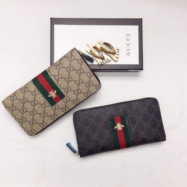 ee8e4fc559e Gucci GG Marmont zip around wallet