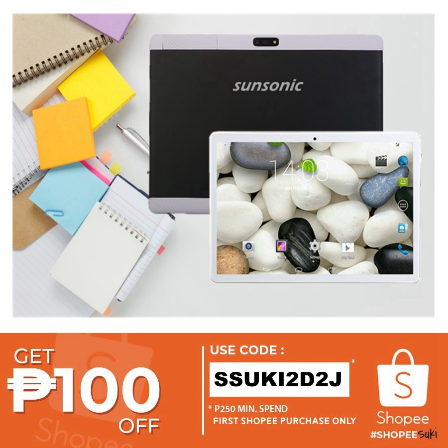 SUNSONIC P11 10'' Inch Android Quad Core Dual SIM Tablet