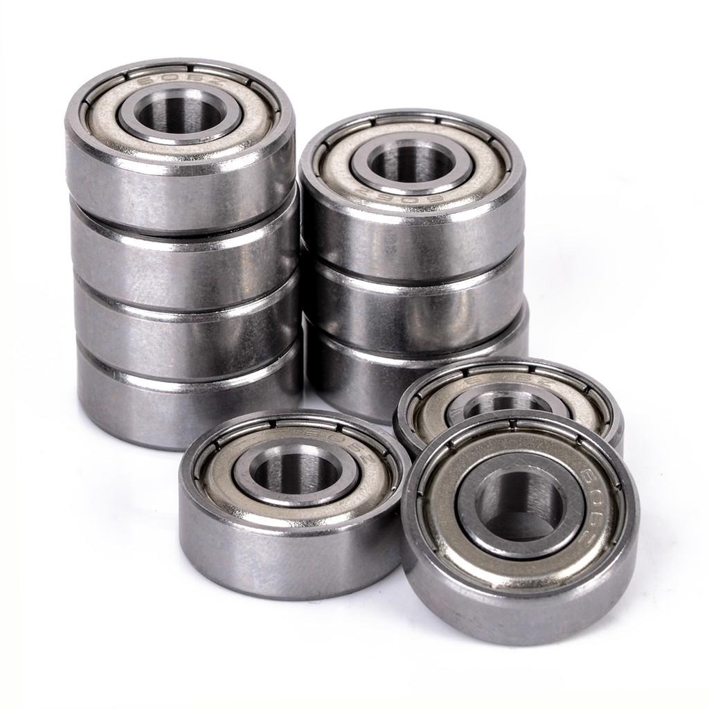 Metal Double Shielded Ball Bearing Bearings 8*24*8 628ZZ 8x24x8mm 20 Pcs