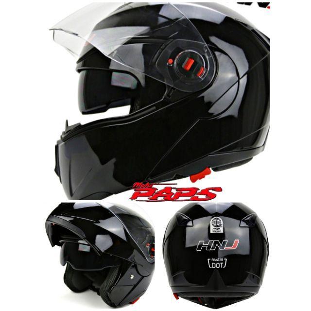 bdaef13e HNJ Dual Visor Modular Helmet | Shopee Philippines