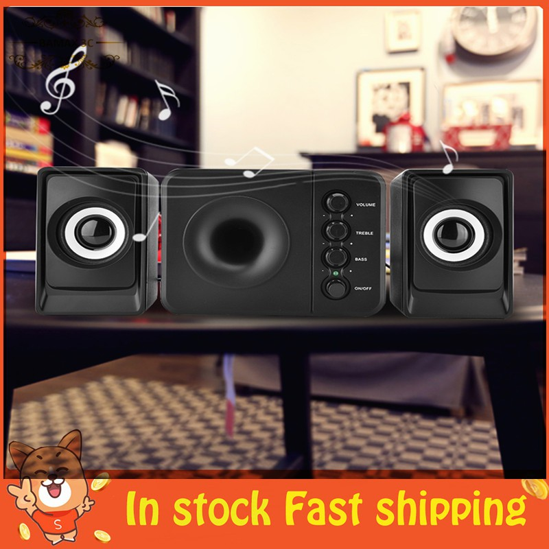SADA Wired Combination Speaker Bass Music Player Subwoofer