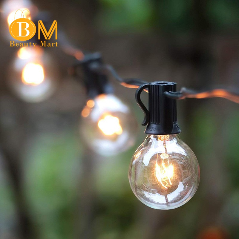 In Stock 25ft Patio String Lights With