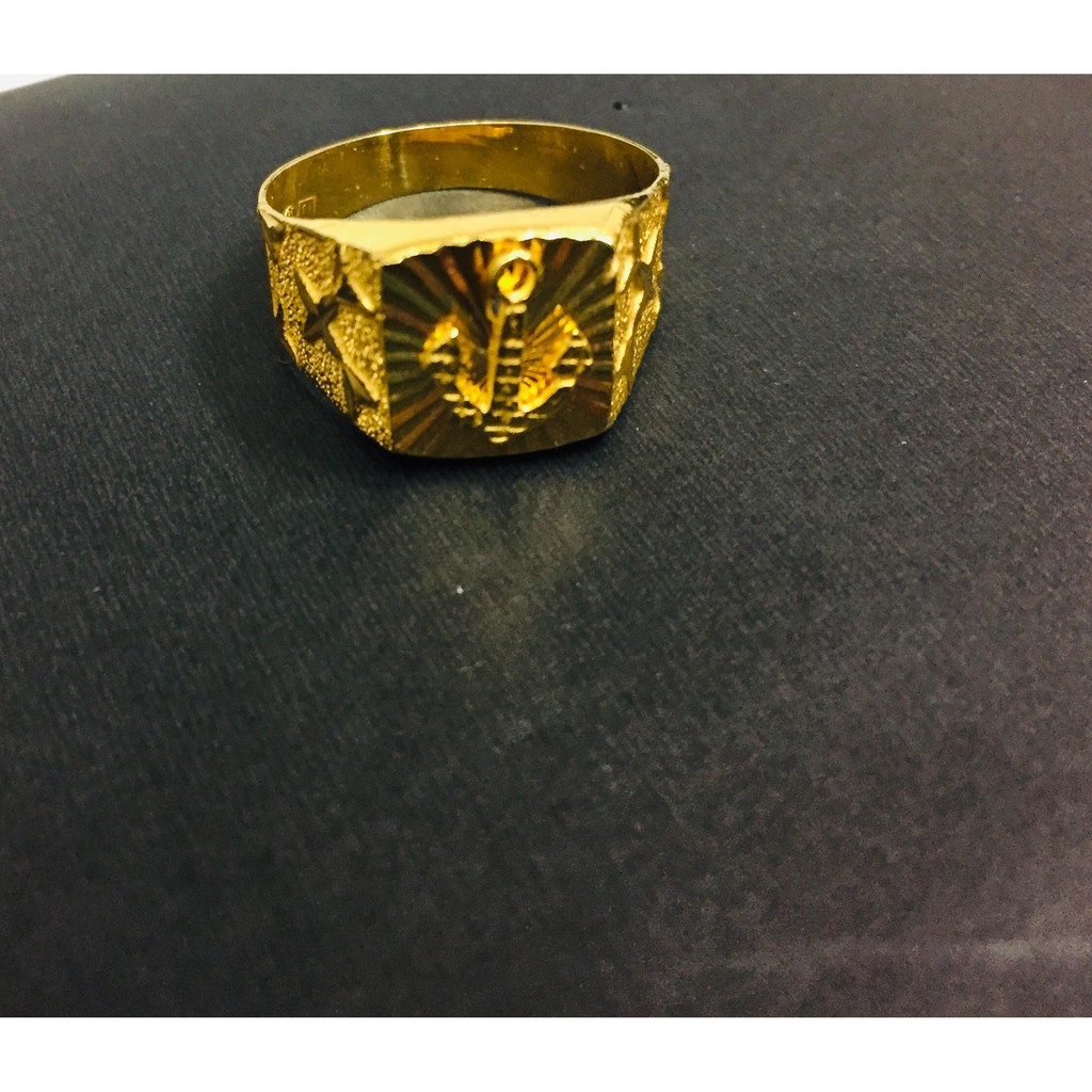 Gold Men S Ring Shopee Philippines