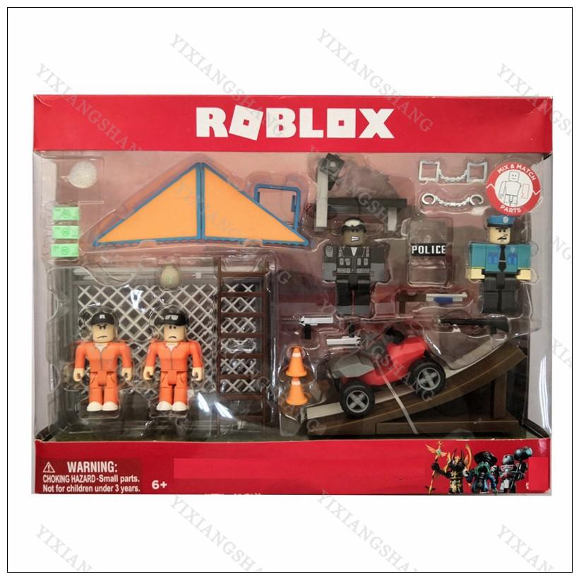 Batman In Jailbreak Roblox Jailbreak Wholesale 4pcs Set Virtual World Roblox Jailbreak Escape Pvc Action Figure Toy Collection Model Birthday Gift Shopee Philippines