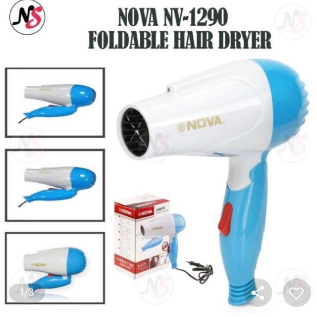 Nova NV-1290 Professional Foldable Hair Dryer 1000W  98b3e5e19a