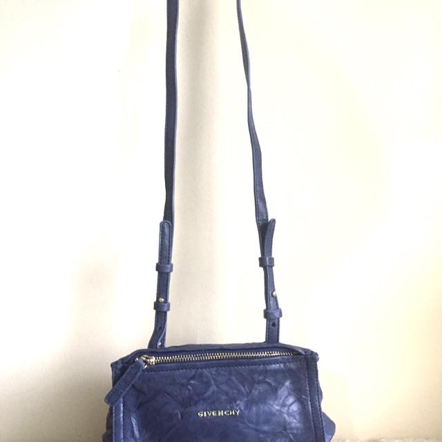 481ab318361 Givenchy Mini Pandora Sling Bag Blue   Shopee Philippines