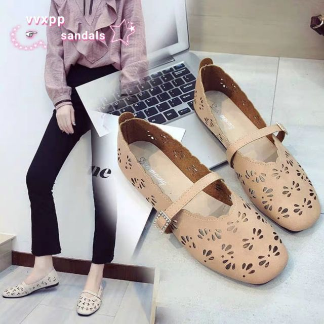 b5194c77b4193 Korean Women doll shoes flat shoes loafers black add 1size