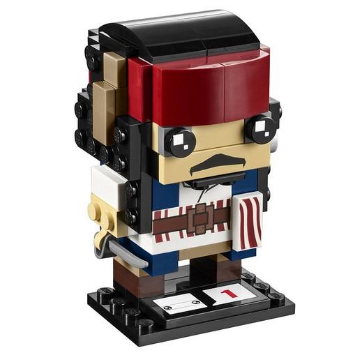 NEW PIRATES OF THE CARIBBEAN LEGO BRICKHEADZ CAPTAIN JACK SPARROW 41593