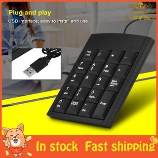 USB Mini 18 Keys Number Pad Keyboard for Laptop Pro   Shopee Philippines