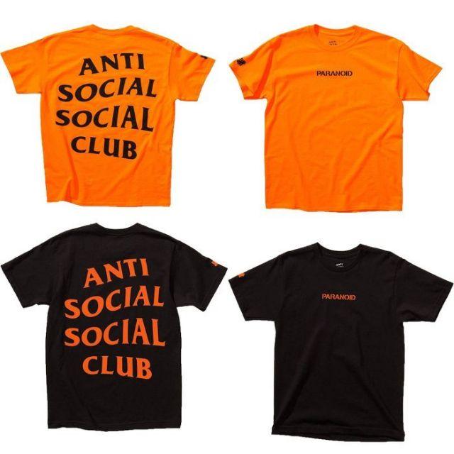 779915601290 Anti Social Social Club X Undefeated Paranoid