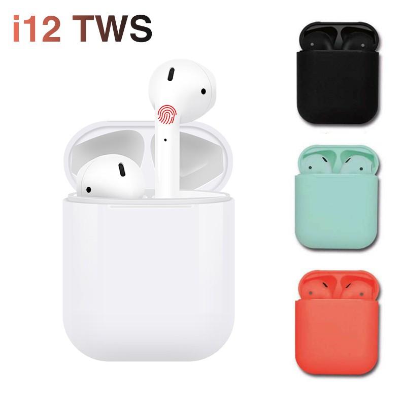 【New】i12 TWS Air Pod Wireless Bluetooth 5 0 Earphone Earbuds