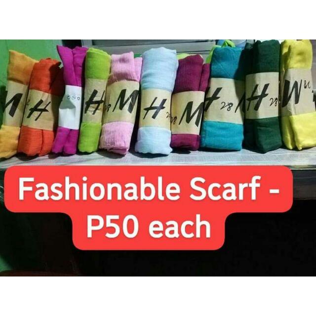 Fashionable Scarf Shopee Philippines