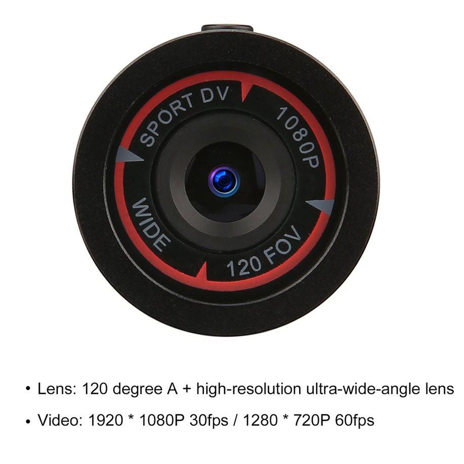 Full HD 1080P DV Mini Waterproof Sport Camera Bike Helmet