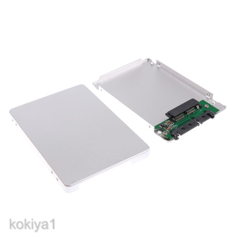"1.8/'/' uSATA to 2.5/""SATA SSD Enclosure Adapter Case 7mm Solid State Drive"