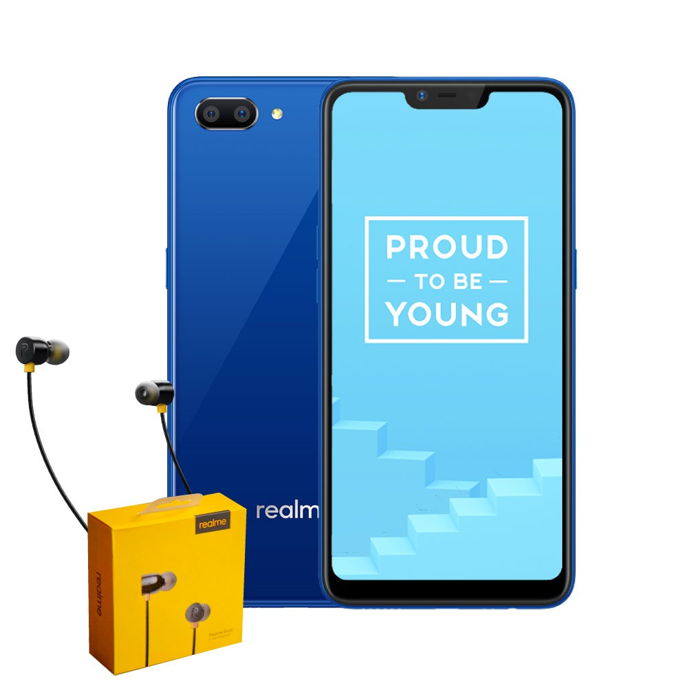 Realme C1 16GB with Earbuds