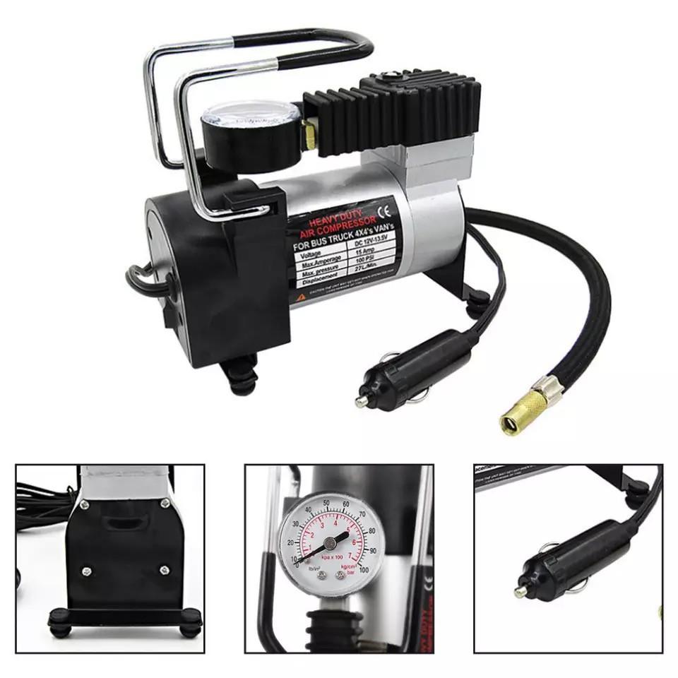 12V Portable Car Electric Pump Air Compressor 100PSI