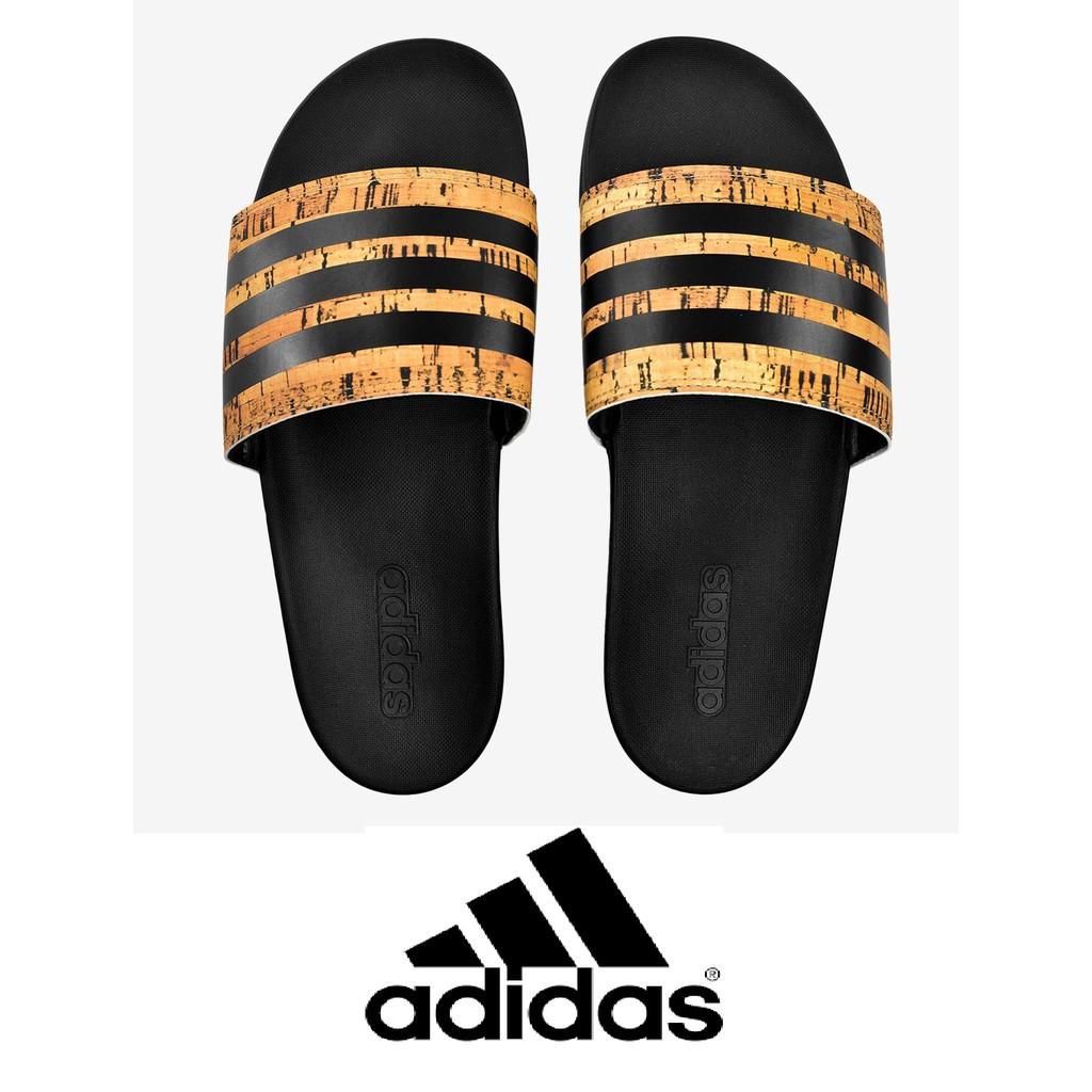 4a42f616be9 adidas Men Training Adilette Cloudfoam Plus Cork Slides