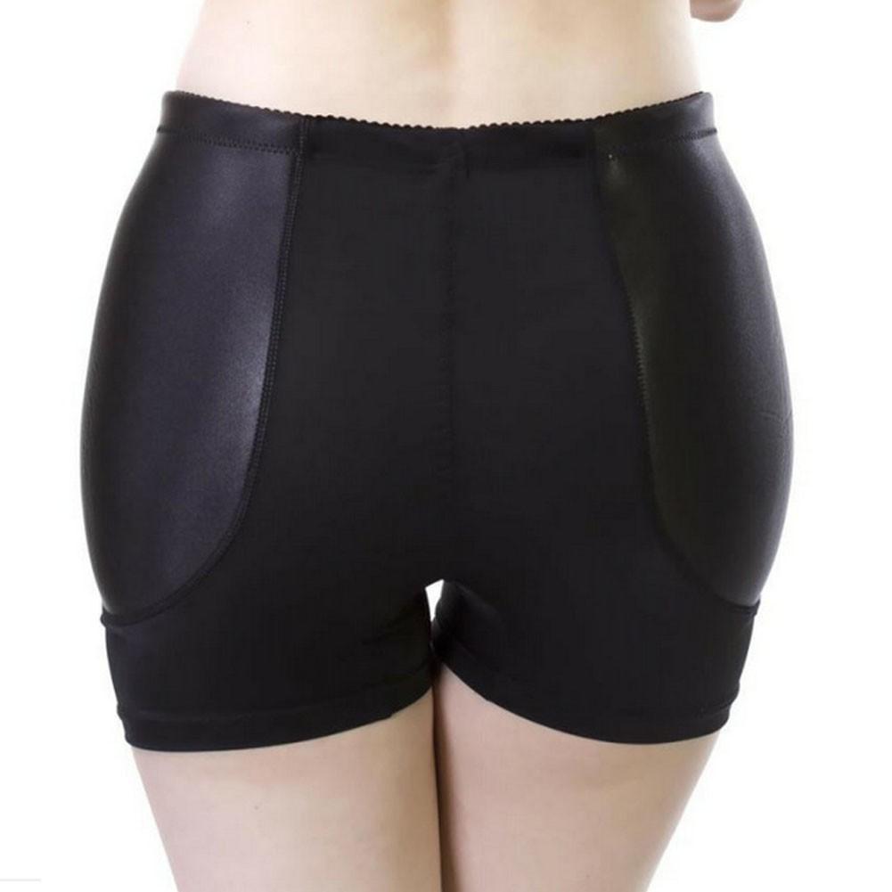 Lady Padded Elastic Butt Hip Enhancer Pants Body Sculpting Shorts Underwear Pant