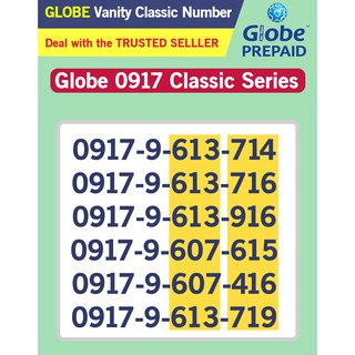 Globe Sim Vanity 0917 Classic Series RARE to FIND 20