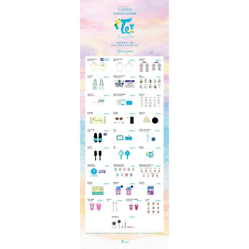 TWICE Twaii's Shop Goods Japan [FAST ETA]